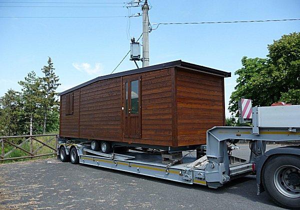 Case mobili for Moduli abitativi usati